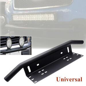 Universal Car Offroad Bumper License Plate Mounting Bracket for LED Fog Lights