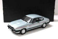 1:18 norev Ford Capri 2.8i injection Light Blue New en Premium-modelcars