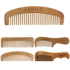 Hair Brush Peach Wood Combs Static Natural Hairbrush Comb Health Care New