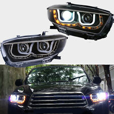 LED Headlights For 2008-2010 Toyota Highlander Front Lamps Assembly