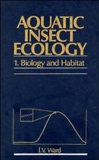 Biology and Habitat, Part I, Aquatic Insect Ecology-ExLibrary