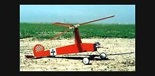 RC plans & instructions + Decal GYRO SHTICK Sport Autogyro for .061-.074 engines