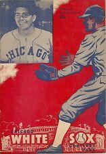 1949 Chicago White Sox Comiskey Park Program vs. Detroit Tigers
