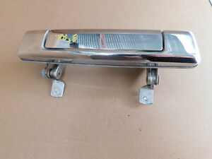 BMW E23 733i 735i RIGHT REAR Chrome Outer Door Handle GR1B Part 1847126