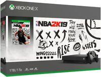 Xbox One X 1TB NBA 2K19 Bundle CYV-00070