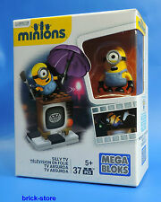 MEGA BLOCKS MINIONS / VERRÜCKTES TV / SILLY TV