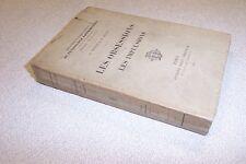 LES OBSESSIONS ET LES IMPULSIONS A PITRES E REGIS 1902. RARE Freud OCTAVE DOIN