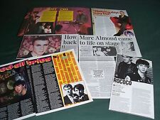 MARK ALMOND - MUSIC  CELEBRITY - CLIPPINGS / CUTTINGS PACK