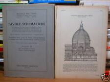 TAVOLE SCHEMATICHE-1943 SECONDA EDIZIONE di M. MATTIONI-CASA ED. MARZOCCO (5232)