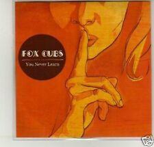 (D562) Fox Cubs, You Never Learn - DJ CD