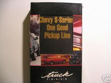 1996  CHEVROLET  TRUCK  TRACK  SALES  VIDEO - S-SERIES