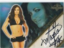 MARIA KANELLIS Benchwarmer 2011 limited autograph