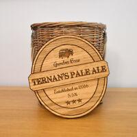 Wooden Bar Pump Clips Custom Personalised Wood Brewery Beer Ale Craft Beer