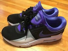 Nike Air Max Zero QS Tinker Hatfield Black Persian Violet Size 9.5 Perfect