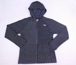 The North Face Black White Polka Dot Fleece Jacket Girls Size Extra Large 18