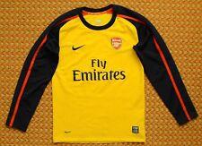 2008 - 2009 Arsenal, Away long sleeve Shirt by Nike, Boys Medium 140-152