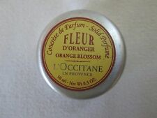 L'occitane Original Perfume Solid~ Fleur D'Oranger ~Orange Blossom~ TESTED/HTF