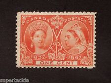 1897 Canada Sc# 51 ** MNH f/vf 1 cent Queen Victoria Jubilee postage stamp
