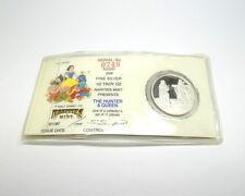 DISNEY Snow White 50th Anniversary HUNTER RM .999 Fine 1/2 oz Silver Medal Coin