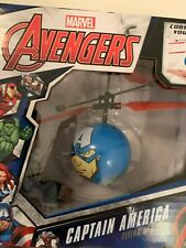 New World Tech Toys Captain America Flying UFO Heli Ball IR Hand Control