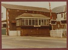 Petersfield Station - Level Crossing signal box 1984   ye63