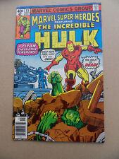 Marvel Super Heroes 83 . Hulk . Marvel 1979 -  FN +