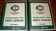 Plymouth Dodge Chrysler DeSoto 46 1947 1948 1949 1950 52 1953 1954 Parts Catalog