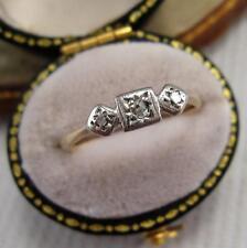 Diamond Ring Retro Fine Jewellery (1940s)