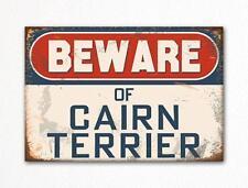 Beware of Cairn Terrier Dog Breed Cute Fridge Magnet