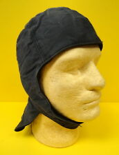 US NAVY EARLY BLUE COLD WEATHER DECK HELMET-USN MARKED