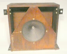 "vIntage * RCA RADIOLA 30A  part: WORKING 8"" MAGNET SPEAKER IN WOOD BOX -1450 ohm"