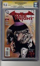 Batman:The Dark Knight (2010) # 2 1:25 Clarke RI - CGC 9.4 WHITE  Pgs - SS Finch