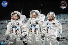 Apollo 11 Astronauts Lunar Landing Full Crew Combo - MINT IN BOX