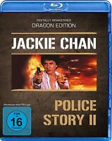 JACKIE CHAN - POLICE STORY II - DIGITALLY REMASTERED DRAGON EDITION BLU-RAY NEU