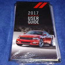 2017 DODGE CHARGER OWNERS MANUAL KIT 05145922AB NEW SEALED COMPLETE OEM