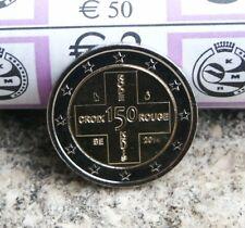 BELGIQUE PIECE 2 EURO COMMEMORATIVE 2014 150 ANS CROIX ROUGE NEUVE DE ROULEAU