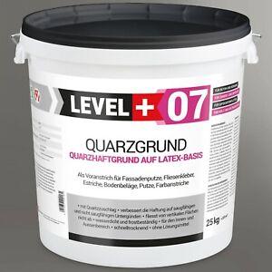 25Kg Quarzgrund weiße Grundierung Putzhaftgrund Putzgrund Top Qualität RM07