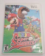 Mario Super Sluggers - Nintendo WiiU or Wii -Complete Nintendo No Manual