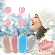 Pocket Heater 5000mAh Portable Power Bank Hand Warmer Backup Battery USB Charger