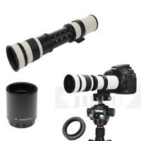 420-800mm +2x lens 420-1600mm Telephoto Lens for Fuji Fujifilm X Mount  Camera
