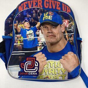 John Cena Never Give Up Wrestling Backpack