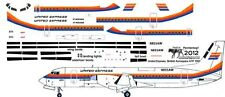 United Express British Aerospace ATP decals for Welsh 1/144 kits
