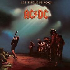 AC/DC Let There Be Rock BANNER HUGE 4X4 Ft Fabric Poster Tapestry Flag album art