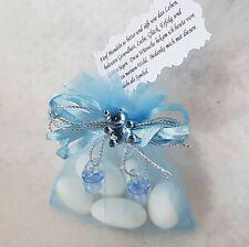 15 Boxen Gastgeschenk Babyshower Taufe Süßigkeiten Schnuller Candy Junge Blau