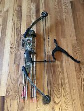 Pse Nova Compound Bow With Arrows Camouflage