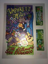 Umphrey's McGee Poster Print Jim Pollock 2006 Rare Uncut Silver Free Shipping US