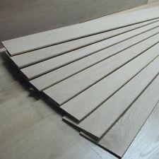 4mm Solid Oak Lamellas / Veneer / Overlay - Unfinished Wood - Fine Grade - OB10