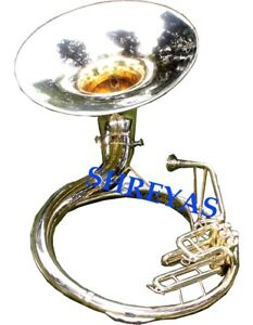 """NEW SOUSAPHONE 22"""" BELL IN BRASS POLISH WITH FREE BAG LATEST FAST SHIPPING"""