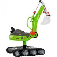 Rolly Toys XL-Digger Bagger Rutscher Metallbagger grün