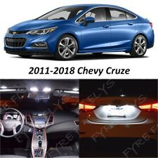 2011-2018 Chevy Cruze White Interior Map Dome LED Lights Package Kit +Tool CC6W